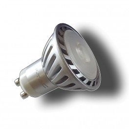 1534 - V-TAC LED Spotlight - GU10 Sharp COB Chip 5W Natiral white (4500K)