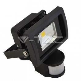 5355 - LED Floodlight V-TAC Sensor PREMIUM Reflector - 10W Warm White