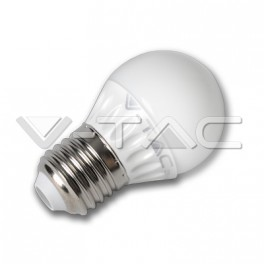 4160 - LED Bulb - 4W E27 G45 Epistar Chip Warm White