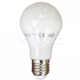 4212 - LED Bulb - 7W E27 A60 Thermoplastic White