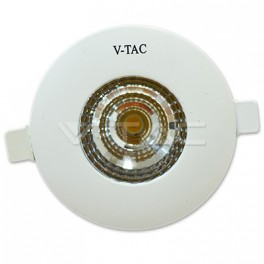 1162 - LED Downlight - 6W, COB, Round, IP65, Warm White