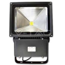 5378 - LED Floodlight V-TAC Classic - 70W, PREMIUM Reflector, Graphit Korper, Warm White