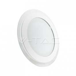 4837 - LED Downlight glass - 18W, round , changing color (3000K, 4500K, 6000K)