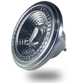 4225 - LED Spotlight - 12W,  GU10, AR111, Beam 40, Sharp Chip, White