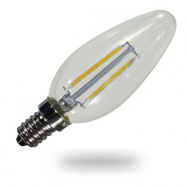 4260 - LED Bulb Filament - E14 2W Warm white