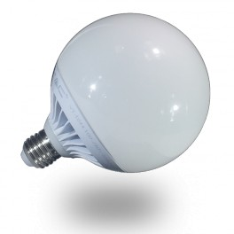 4254 - LED Bulb - 13W, E27, G120, Dimmable, Warm white