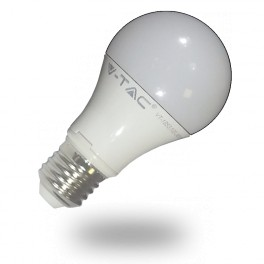 4282 - LED Bulb - 10W, E27, A60, Thermoplastische, Dimmable, Warm White