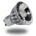 1563 - LED Spotlight - 4W, GU10, SMD, Aluminium, Warm white