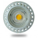 1629 - LED Spotlight - 6W, GU10, White plastic, Premium, Warm white