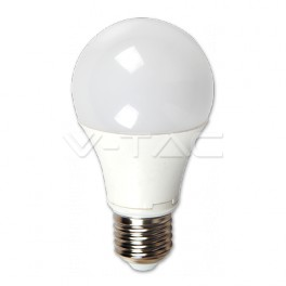 4283 - LED Bulb - 5W, E27, A60, Thermoplastic, Warm white