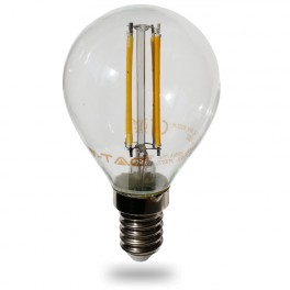 4300 - LED Bulb Filament - E14 4W P45 Warm white