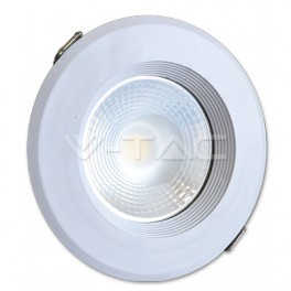 1216 - LED Downlight - 20W, COB, 10W Body, White