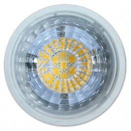 1663 - LED Spotlight - 7W, MR16, Plastic, Warm white