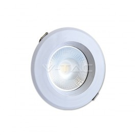 1214 - LED Downlight - 20W, COB, 10W Body, Warm White