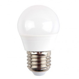 LED Bulb - 5.5W, E27, G45, Samsung Chip, 5 Years Warranty, Natural White