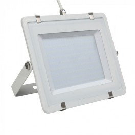 LED Floodlight - 200W, with Samsung Chip, SMD, White Body, 5 Years Warranty, White