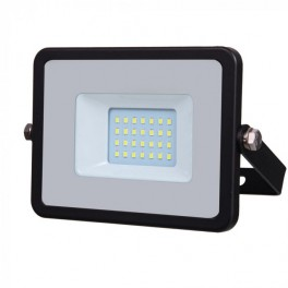 LED Floodlight - 20W, with Samsung Chip, SMD, 5 Years Warranty, Black Body, White