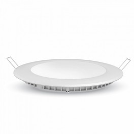 LED Panel - 6W, round, Warm White