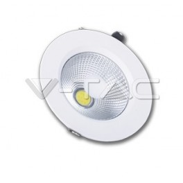 1062 - 10W LED Downlight COB - PKW Body 4500K