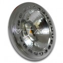 4106 - LED Spotlight - 15W, AR111, Beam 20, Sharp Chip, Dimmable, Natural white