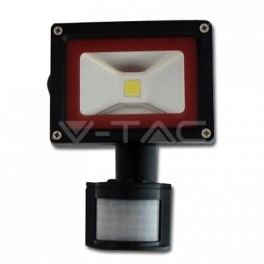 5228 - 10W LED Floodlight V-TAC Sensor - BRIDGELUX 4500K - NEW