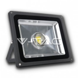 5240 - 50W LED Floodlight V-TAC Lens - White, Graphite Body