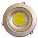 1009 - 15W LED Downlight COB - Aluminium Body White