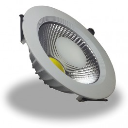 1052 - 10W LED Downlight COB - SN Body White