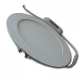 4767 - 15W LED Panel Downlight - Samsung Chip, Round White